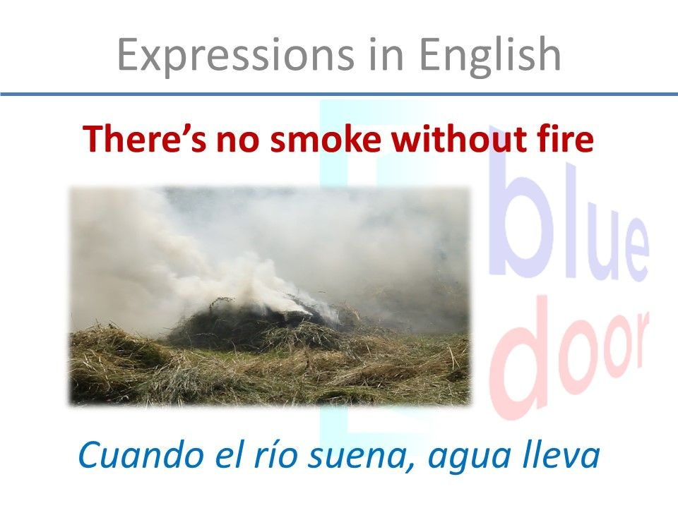 there no smoke without fire essay How to say  there's no smoke without fire  in english, french, german, italian, spanish, portuguese, russian.